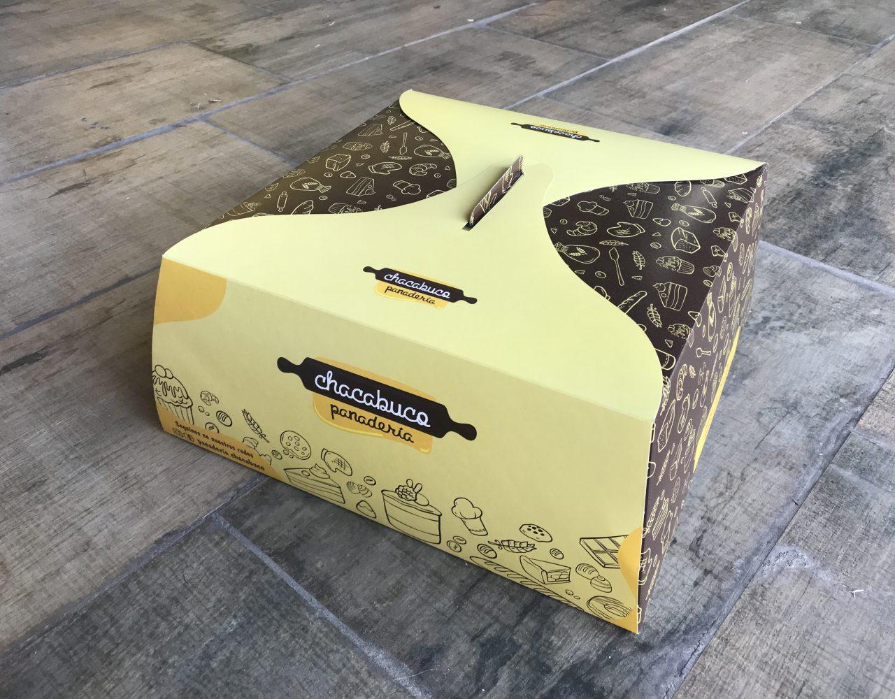 caja de torta